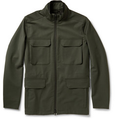 Theory Durant Coated Wool-Blend Field Jacket