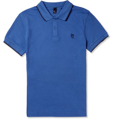 McQ Alexander McQueen Cotton-Pique Polo Shirt