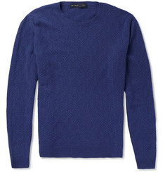 Etro Patterned-Knit Cashmere Sweater