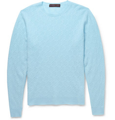 Etro Textured-Knit Cashmere Sweater