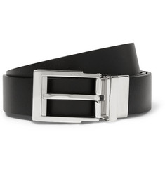 Lanvin Reversible 3cm Leather Belt