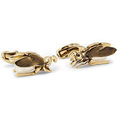 Paul Smith Shoes & Accessories Bee Enamelled Brass Cufflinks
