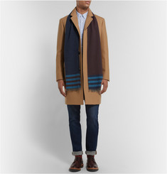 Paul Smith Shoes & Accessories Cotton and Cashmere-Blend Scarf