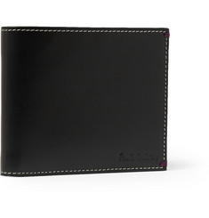 Paul Smith Shoes & Accessories Printed Leather Billfold Wallet