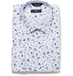 Paul Smith London Floral-Print Byard Cotton Shirt