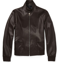 Paul Smith London Leather Harrington Jacket
