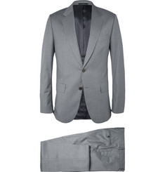 Paul Smith London Grey Mayfair Slim-Fit Wool Suit