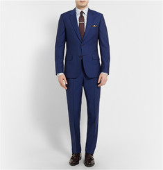 Paul Smith London Blue Slim-Fit Wool and Mohair-Blend Suit