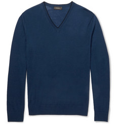 Paul Smith London Fine-Knit Merino Wool Sweater