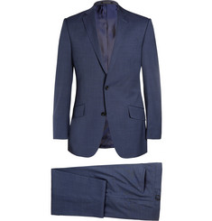 Richard James Navy Hyde Slim-Cut Wool Suit