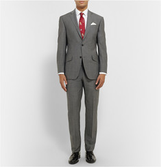 Richard James Grey Hyde Slim-Fit Super 130s Wool Suit