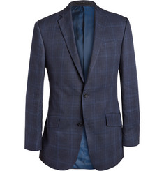 Richard James Prince of Wales Check Linen and Wool-Blend Blazer