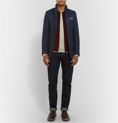 Richard James Slim-Fit Unstructured Linen and Cotton-Blend Blazer