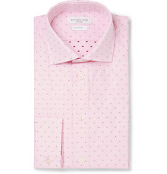 Richard James Pink Slim-Fit Cotton Shirt
