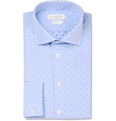 Richard James Blue Slim-Fit Cotton Shirt