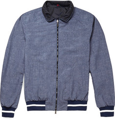 Isaia Reversible Bomber Jacket