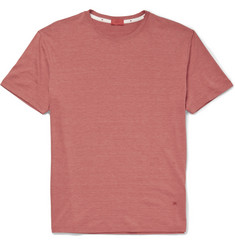 Isaia Silk and Cotton-Blend T-Shirt