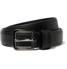 Maison Margiela Black 2.5cm Leather Belt