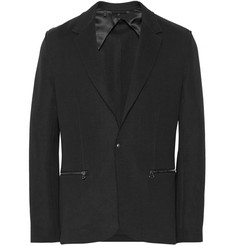 Lanvin Unstructured Tech-Jersey Blazer