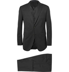Lanvin Black Attitude Slim-Fit Wool Suit