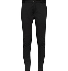Lanvin Cotton-Blend Biker Trousers