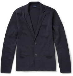 Lanvin Merino Wool and Cotton-Blend Cardigan