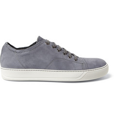 Lanvin Nubuck Leather Sneakers