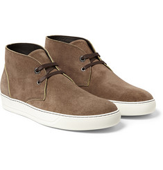 Lanvin Suede Chukka Boots