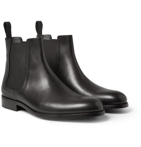 LanvinPanelled Leather Chelsea Boots