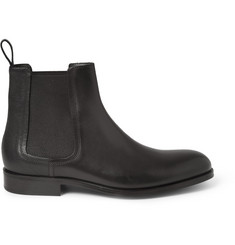 Lanvin Panelled Leather Chelsea Boots