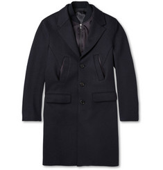 Neil Barrett Wool-Blend Overcoat with Bomber Insert