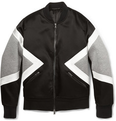 Neil Barrett Panelled Bomber Jacket