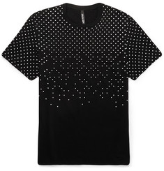 Neil Barrett Polka-Dot Printed Cotton-Jersey T-shirt