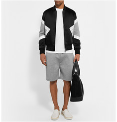 Neil Barrett Bonded Tech-Jersey Shorts