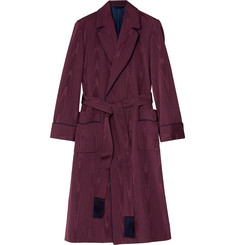 Kingsman Turnbull & Asser Moiré Dressing Gown