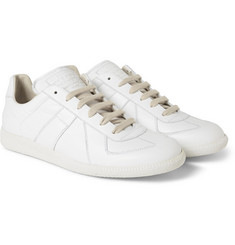 Maison Margiela Panelled Leather Sneakers