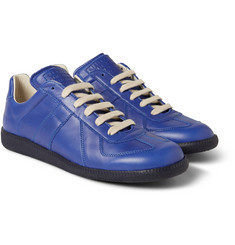 Maison Martin Margiela Replica Panelled Leather Sneakers