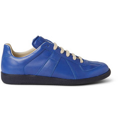 Maison Margiela Replica Panelled Leather Sneakers