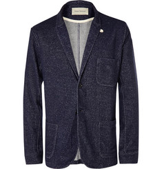 Oliver Spencer Loungewear Wool, Cotton and Jersey-Blend Blazer