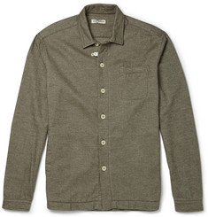 Oliver Spencer Loungewear Cotton-Flannel Overshirt