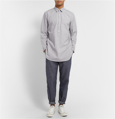 Oliver Spencer Loungewear Striped Cotton Shirt