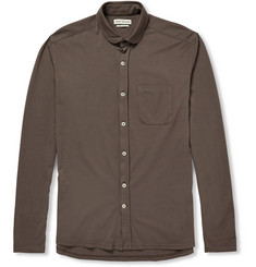 Oliver Spencer Loungewear Cotton-Jersey Shirt