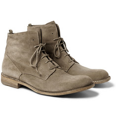 Officine Creative Ideal Suede Lace-Up Boots