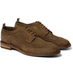 Officine Creative Harvard Suede Brogues