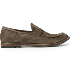 Officine Creative Anatomia Suede Penny Loafers