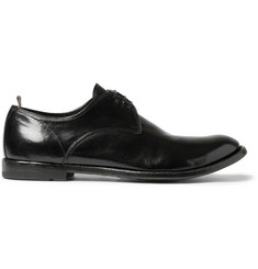 Officine Creative Anatomia Glossed-Leather Derby Shoes