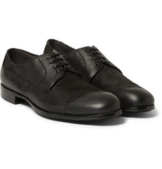 Dolce & Gabbana Distressed Suede Derby Shoes