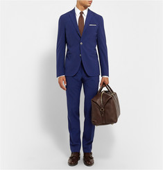 Boglioli Blue Slim-Fit Wool-Blend Travel Suit