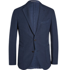 Boglioli Cotton and Linen-Blend Blazer