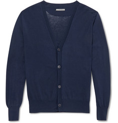 Boglioli Fine-Knit Cotton Cardigan